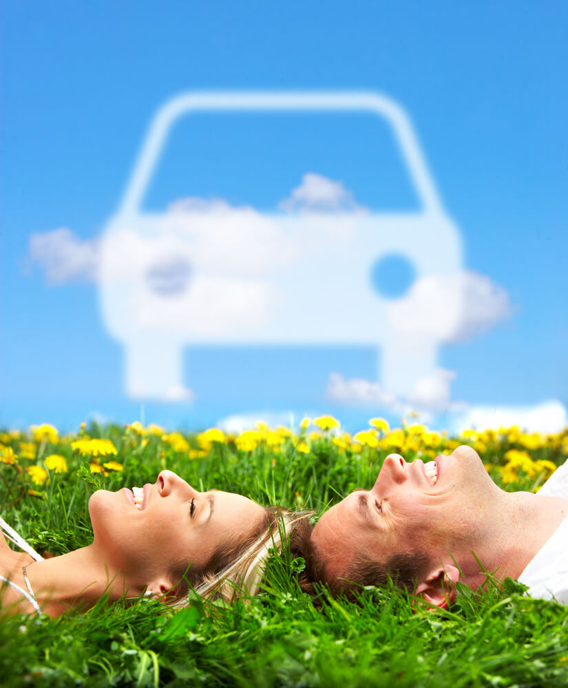 Happy Couple Buying Hybrid Car - Choosing the Right Hybrid Vehicle for You