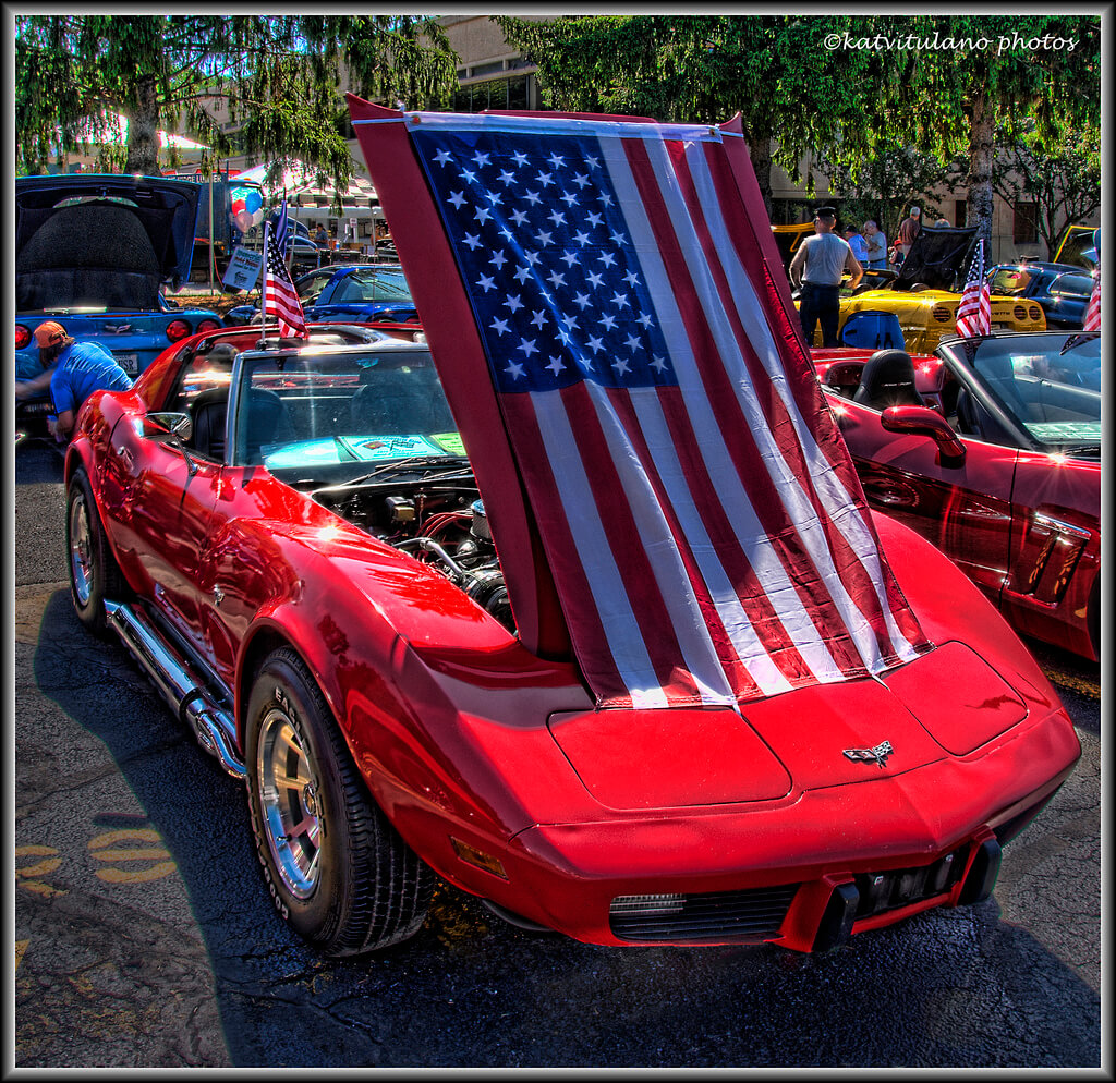 9 Of The Most Patriotic American Flag Cars For The World Cup