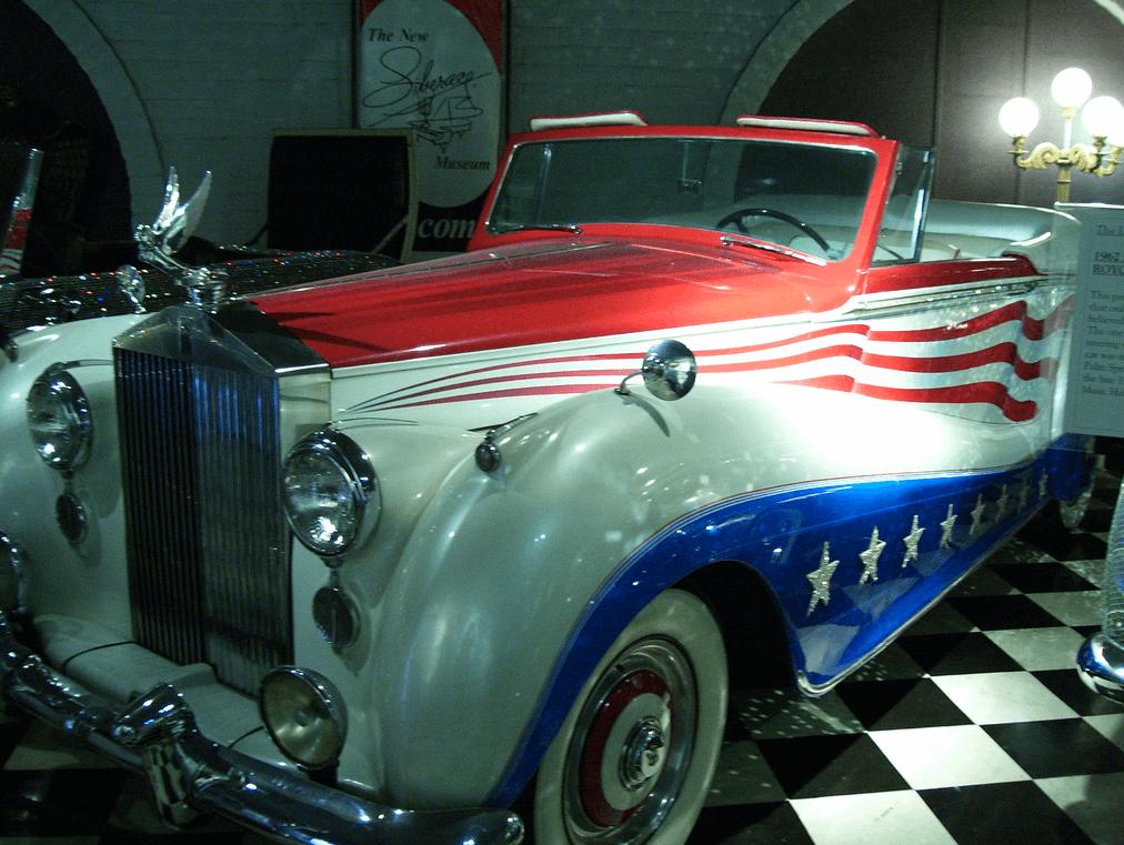 Liberace's 1954 Bicentennial Rolls Royce