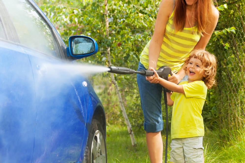 Can Preesure Washing Damage Car Paint